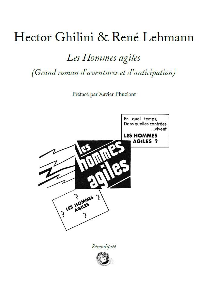 Les Hommes agiles (Grand roman d'aventures et d'anticipation)