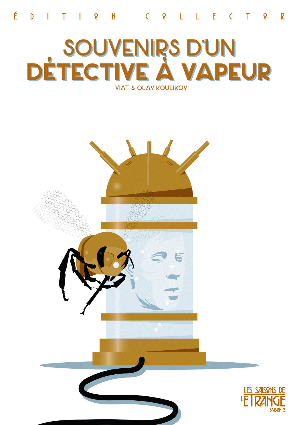 Souvenirs d'un détective à vapeur (Bodichiev) Tirage luxe