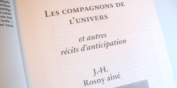 Les Compagnons de l'univers (La Légende des Millénaires, 3, Intuitions)