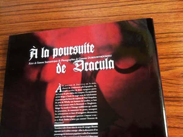 À la poursuite de Dracula